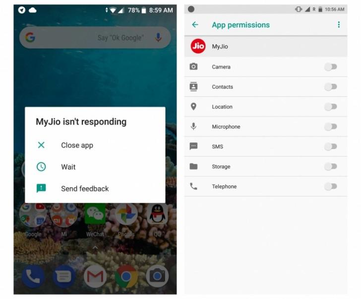Las aplicaciones no responden tras actualizar a Android Oreo el Xiaomi Mi A1