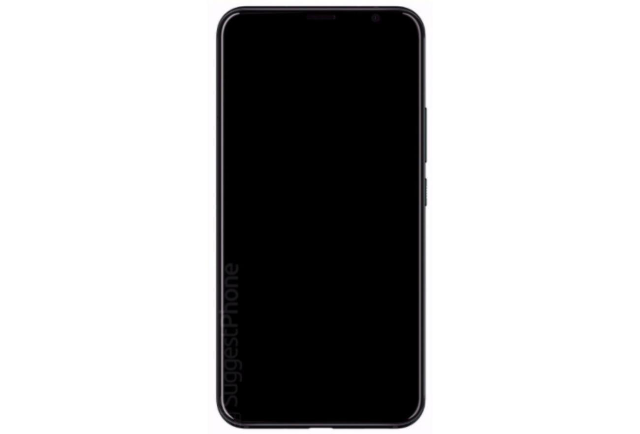 Un render filtrado del HTC U12 sugiere un frontal con pantalla sin ...