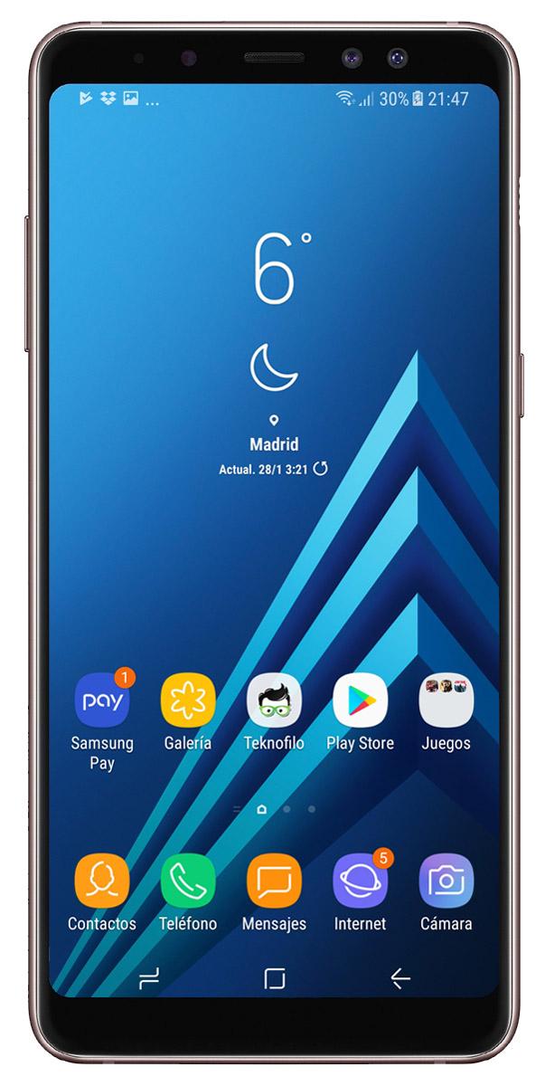 Alarma Calendario Samsung.Analisis Del Samsung Galaxy A8 2018 A Fondo Y Opinion
