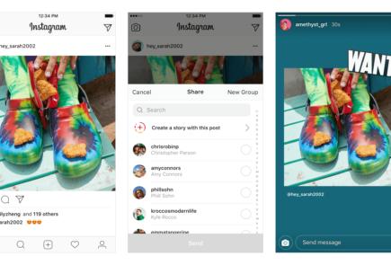 Compartir publicaciones en las historias de Instagram