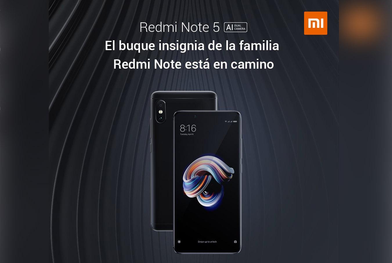 Xiaomi Hace Oficial El Redmi Note 4 Con Pantalla De 5 5 Y: El Xiaomi Redmi Note 5 Llegará Oficialmente A España El 17