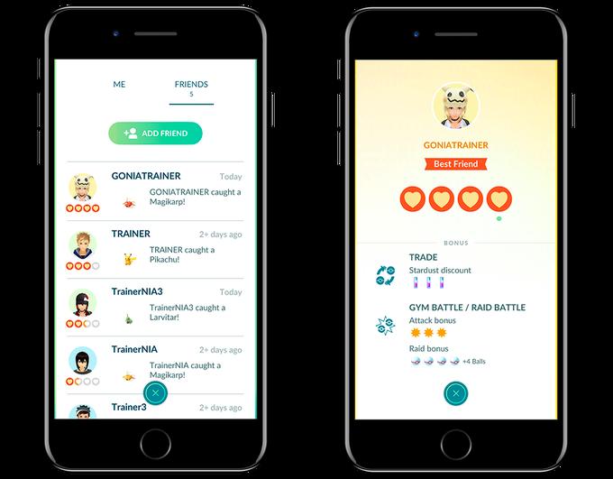 Pokémon Go: Amigos, intercambios y regalos llegan en la próxima actualización