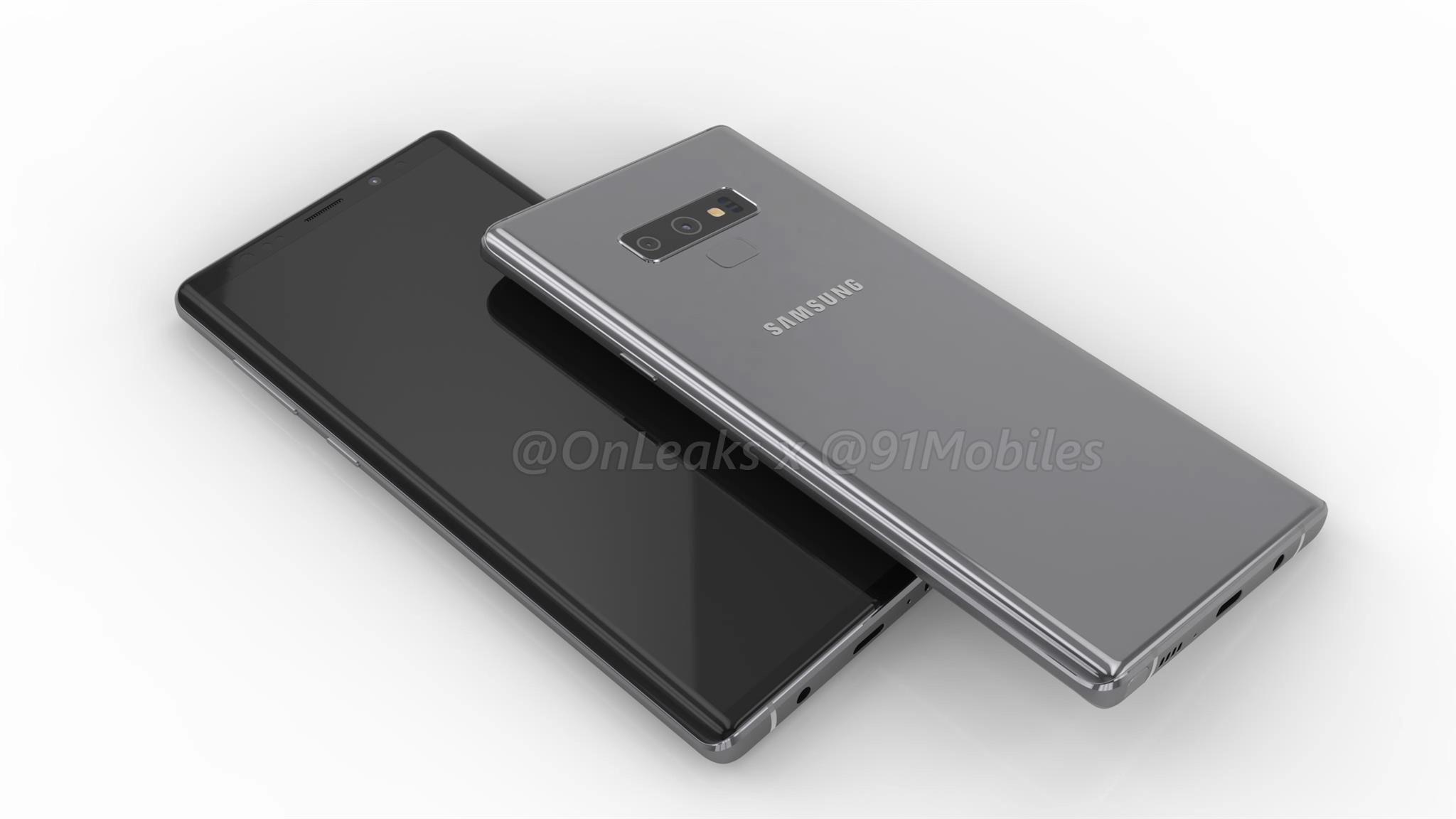 """¿Serán estas las medidas y el diseño del Samsung Galaxy Note 9?"""""""