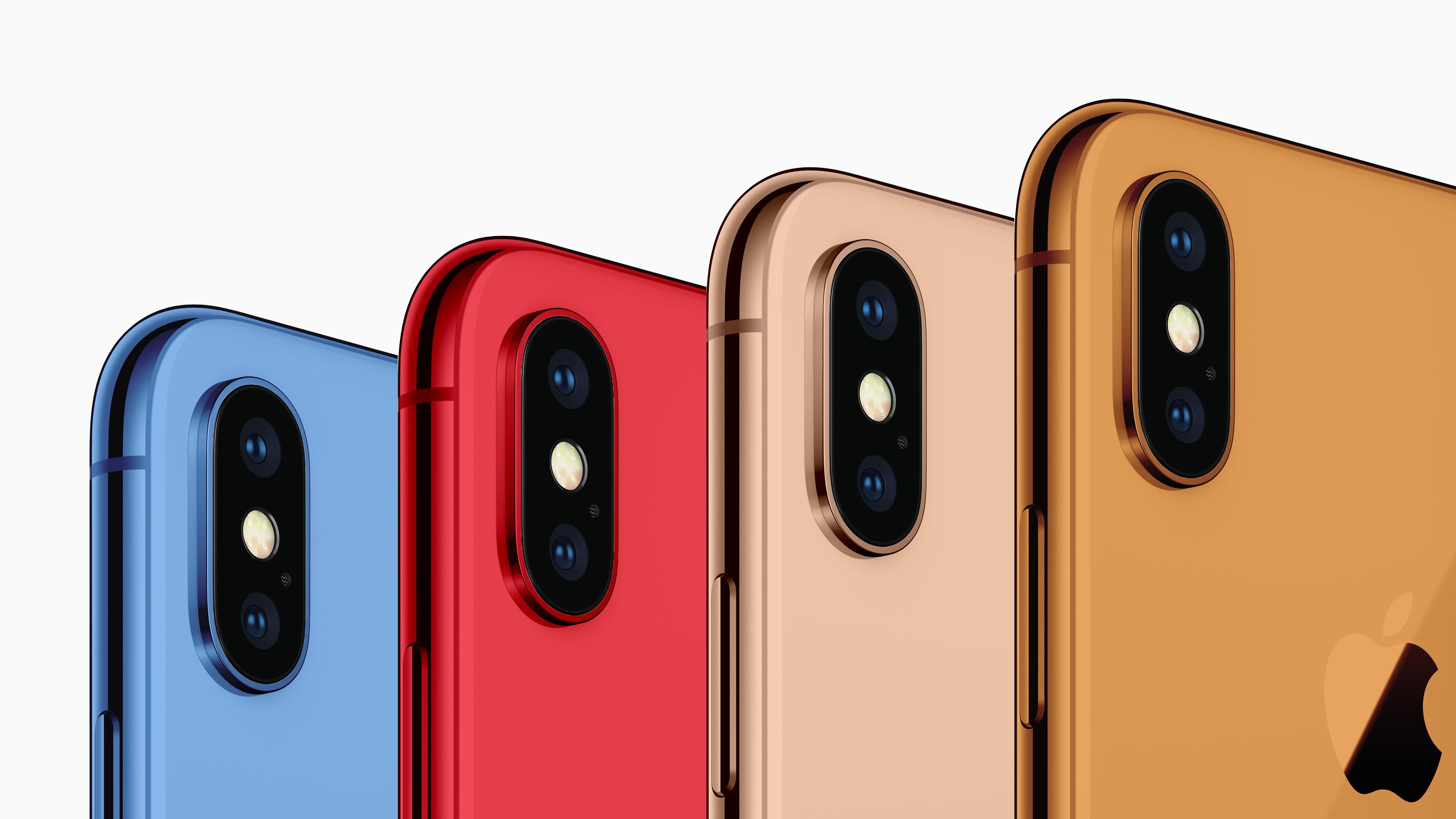 Los nuevos iPhone de 2018 llegarán con colores renovados
