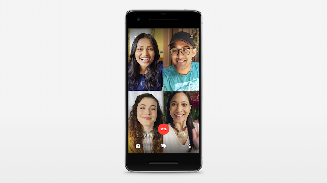 WhatsApp habilita las videollamadas grupales