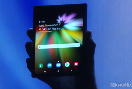 smartphone plegable samsung