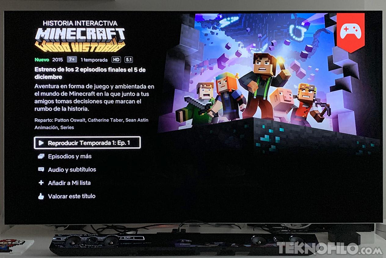 Netflix Lanza Una Aventura Interactiva De Minecraft A La Que Puedes