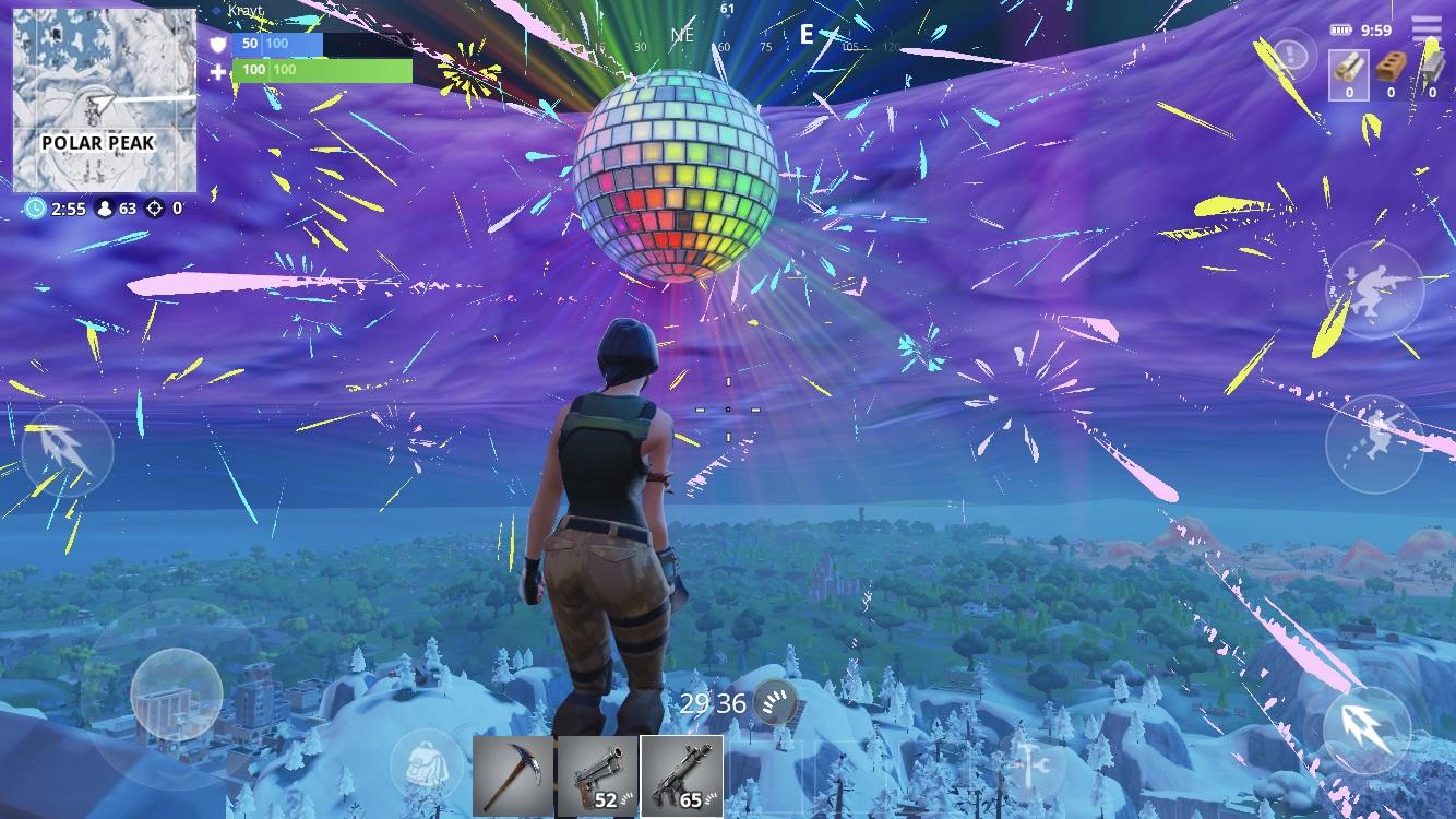 Fortnite Esta Celebrando La Nochevieja Cada Hora Con Luces Bailes Y