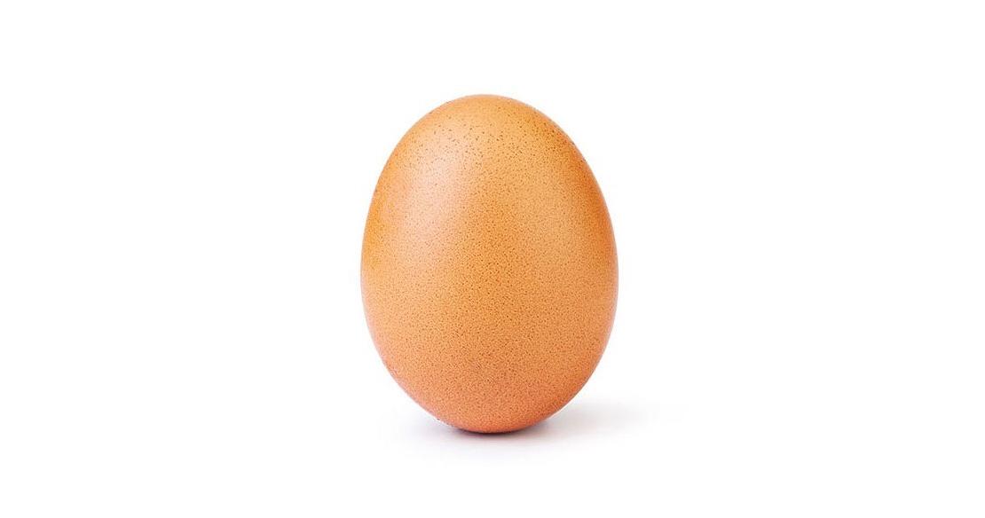 Un huevo roba el récord de Instagram a Kylie Jenner