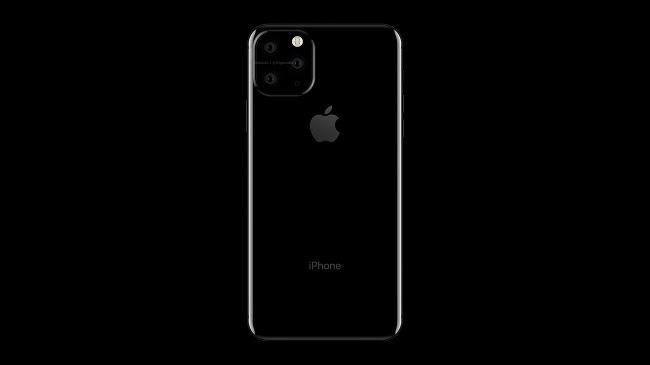 Revelan el supuesto diseño del iPhone de 2019 con triple cámara