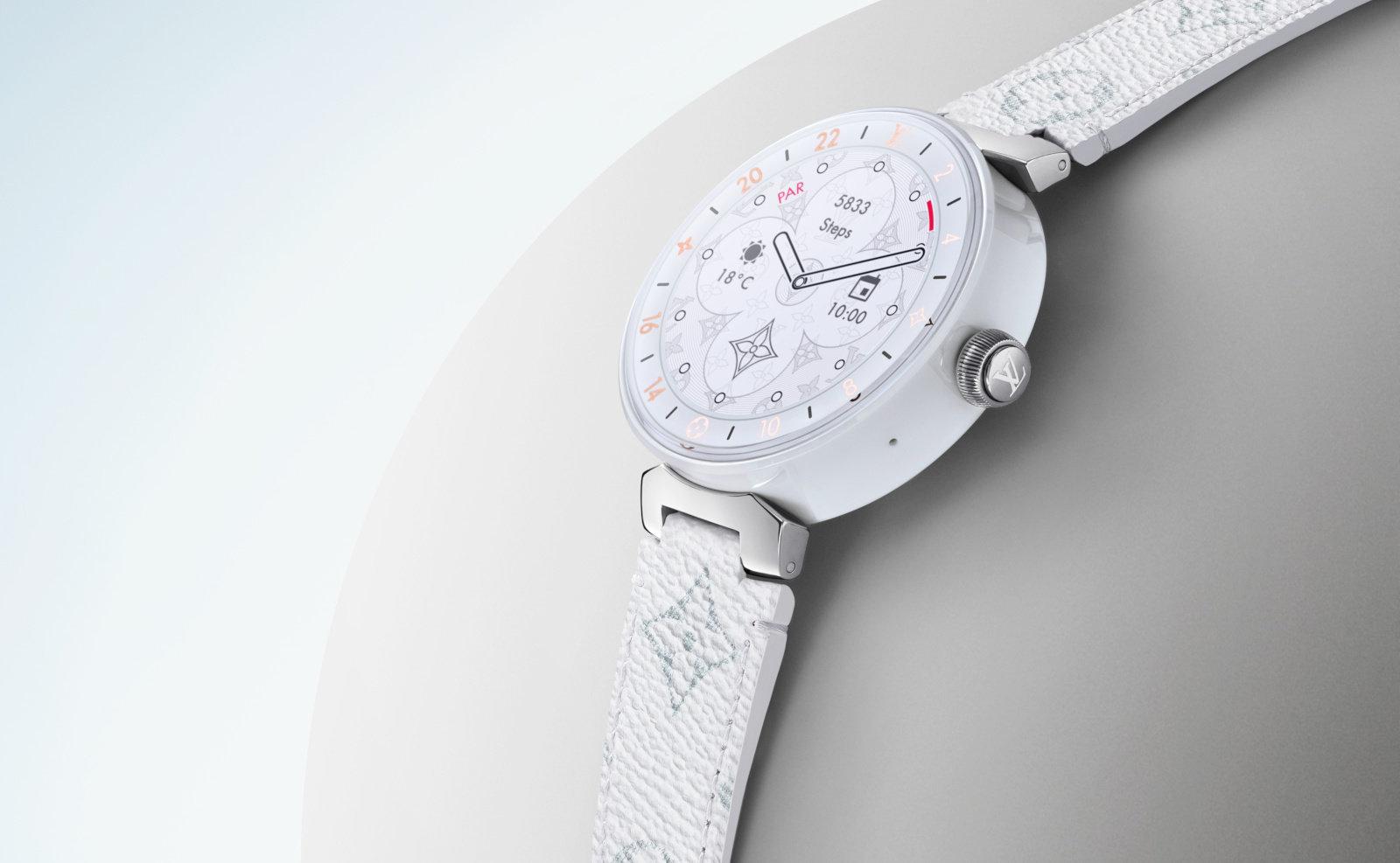 d4f90b4d4 Hoy en día casi todas las marcas de lujo tienen su propio reloj Wear OS, y Louis  Vuitton es una de ellas. Según Engadget, la marca ha actualizado su reloj  ...