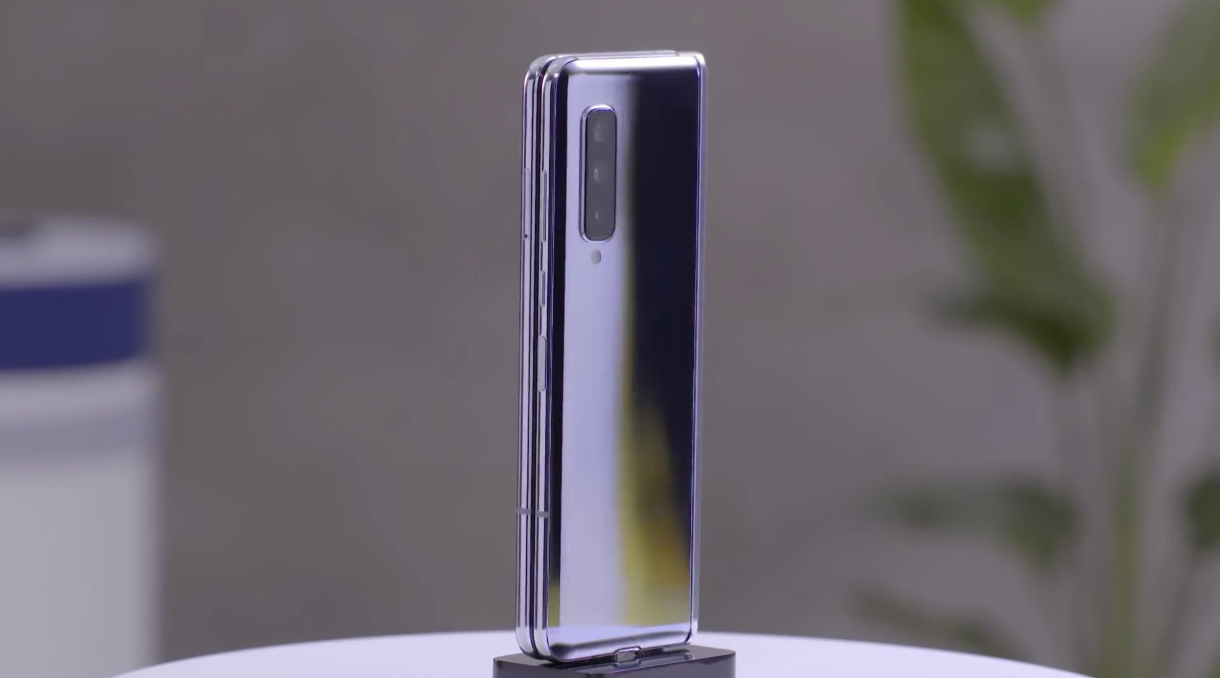 Así es el Mate X, el nuevo celu plegable de Huawei