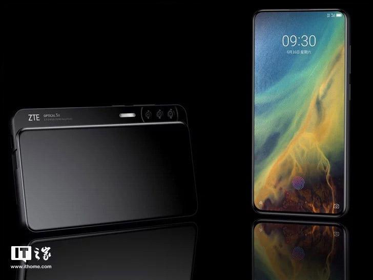 ZTE Axon S, así será el teléfono deslizable más raro hasta ahora