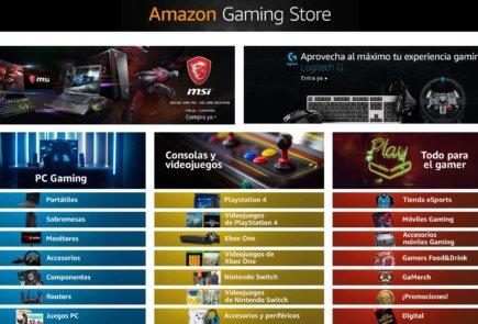 Nueva tienda Amazon Gaming - teknofilo