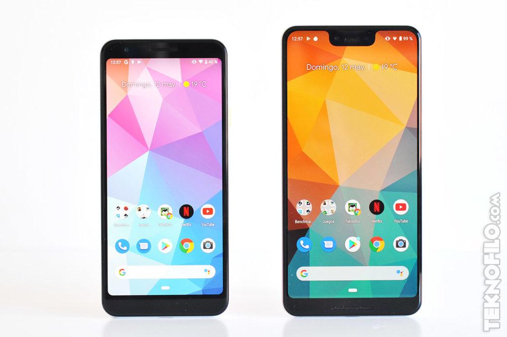 Pixel 3a y Pixel 3 XL