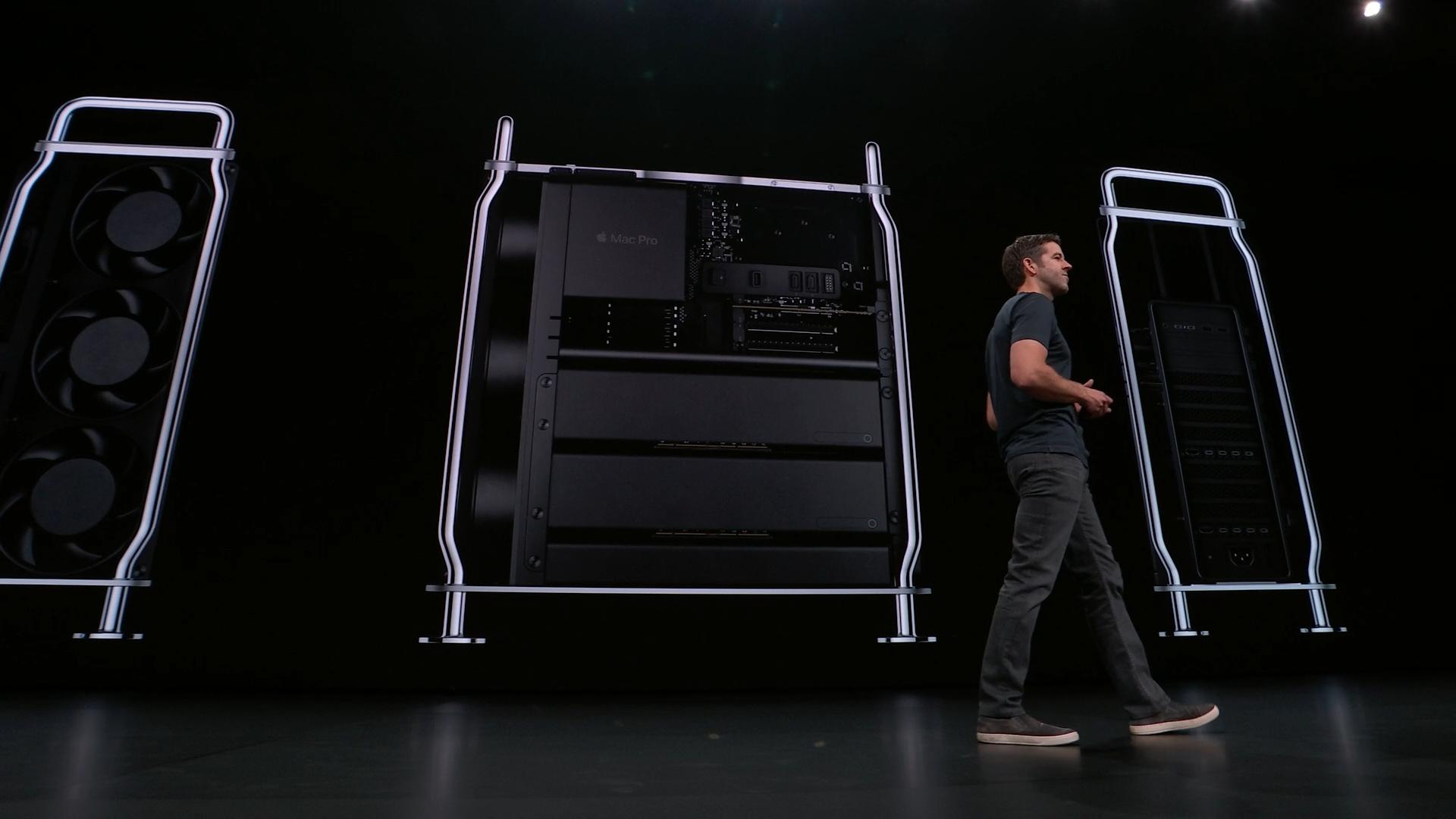 Contemplen la nueva, poderosa y re diseñada Mac Pro