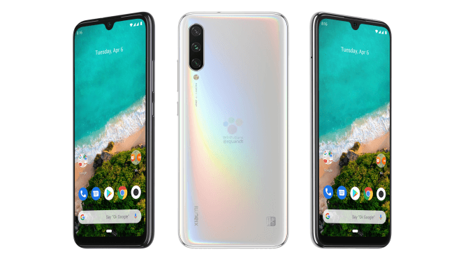 Xiaomi Mi A3 And Mi A3 Lite Specifications & Renders Leaked,Expected To Launch Soon,See Details
