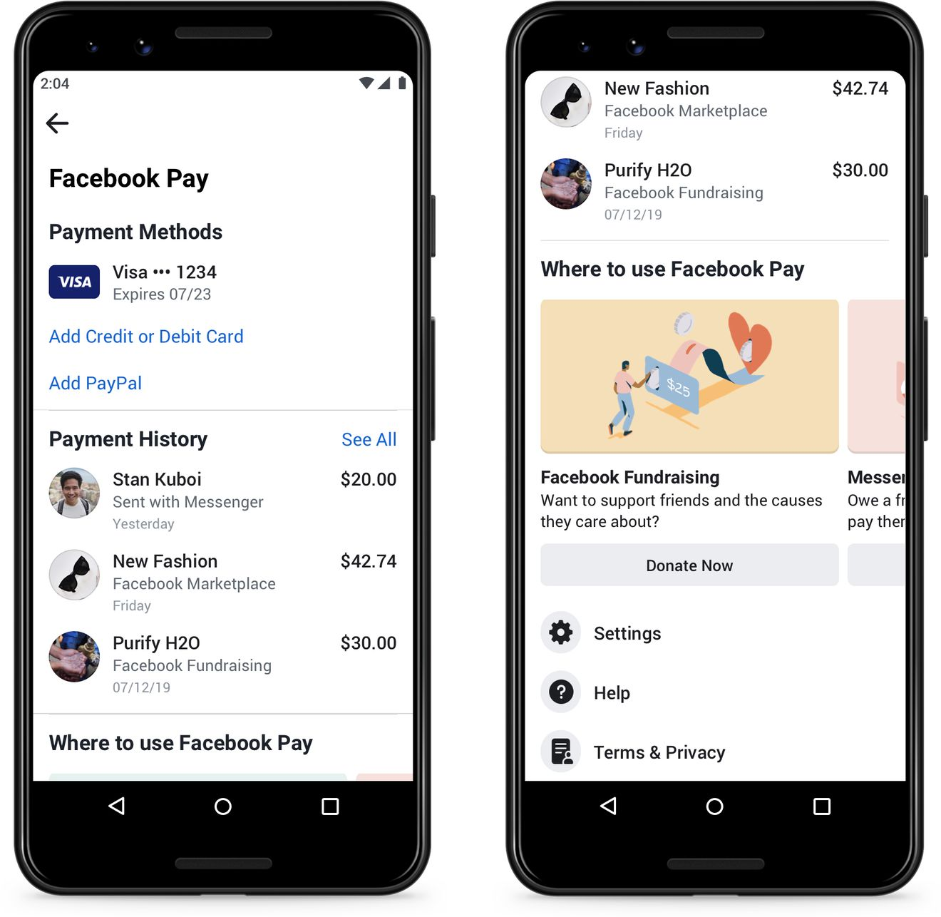 Facebook anuncia Facebook Pay: Paga con WhatsApp, Instagram, Messenger y Facebook