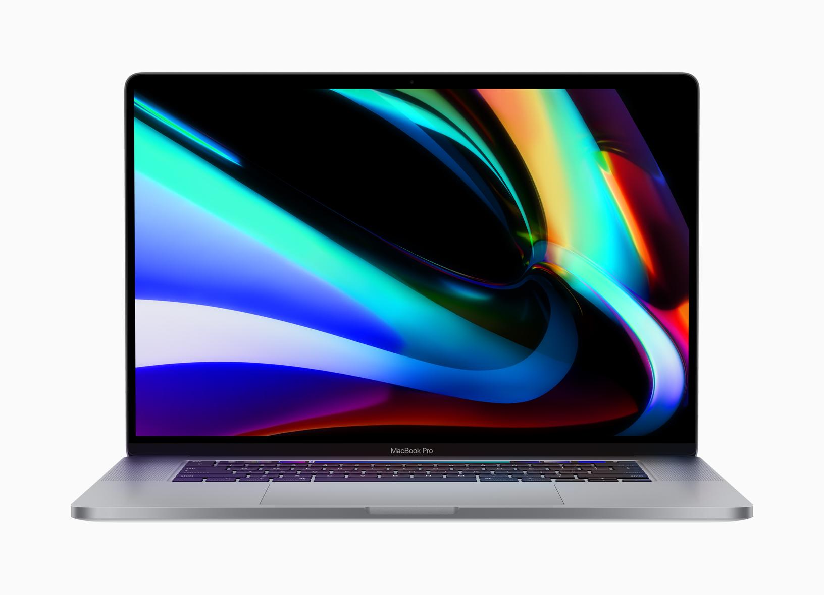 Apple presenta la MacBook Pro de 16 pulgadas