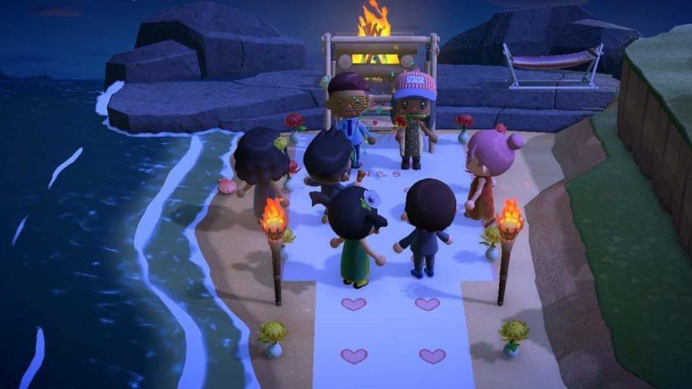 Boda en Animal Crossing