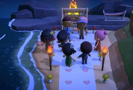Boda en Animal Crossing