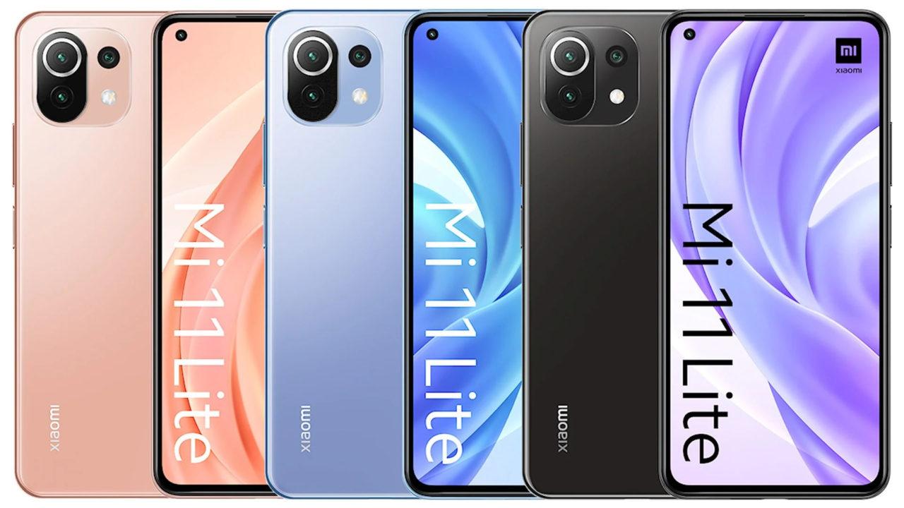Xiaomi Mi 11 Lite 4G/5G ha sido filtrado: Especificaciones técnicas y precio